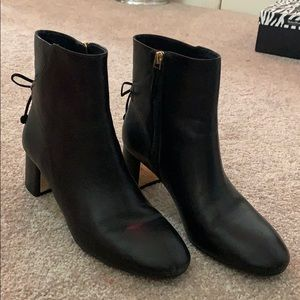 Black Tory Burch boots